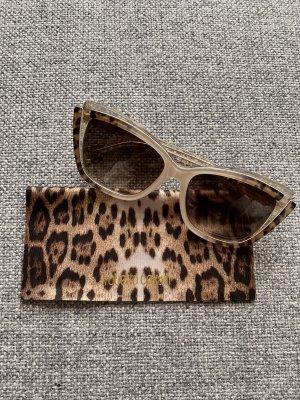 Roberto Cavalli Gafas de sol cuadradas beige-marrón claro