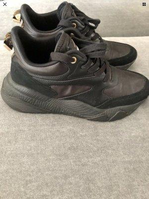Cavalli Sneakers met veters zwart
