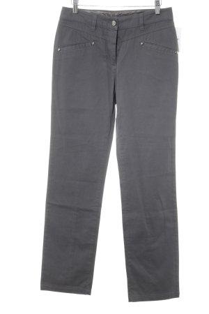 Roberto Cavalli Jersey Pants dark grey casual look