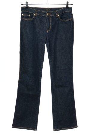 Roberto Cavalli Straight-Leg Jeans blau Casual-Look