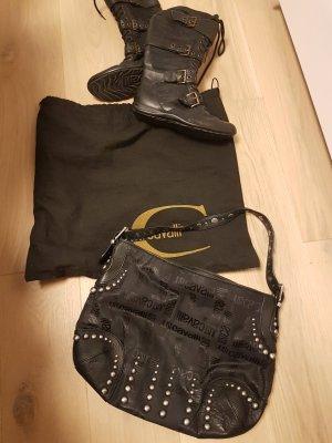 Roberto Cavalli Tasche schwarz ca. 40 cm x 30 cm