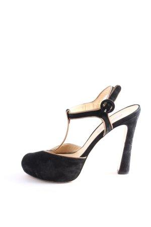 Roberto Festa High Heel Sandaletten schwarz Casual-Look