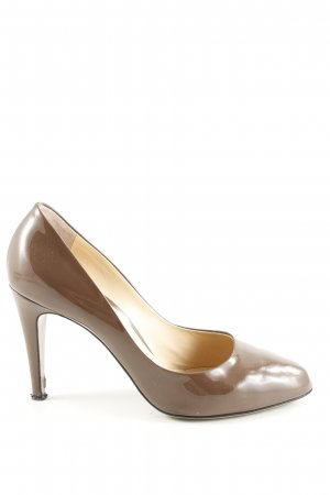 Roberto Festa High Heels bronzefarben Business-Look