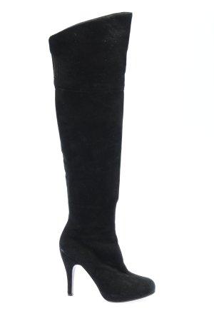 Roberto Festa Botas sobre la rodilla negro look casual