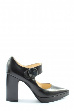 Roberto Festa Pointed Toe Pumps black casual look