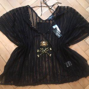 Roberto Geissini Strandkleding zwart-goud