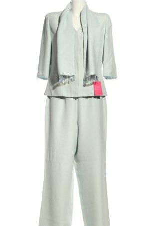 Roberto Quaglia Tailleur pantalone turchese stile professionale