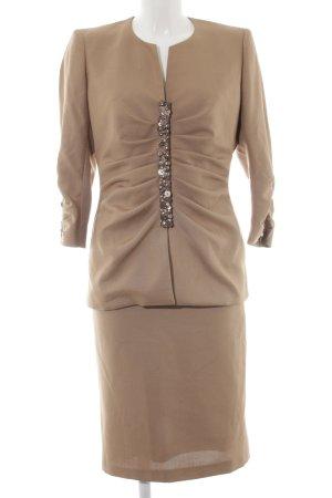 Roberto Quaglia Ladies' Suit beige business style