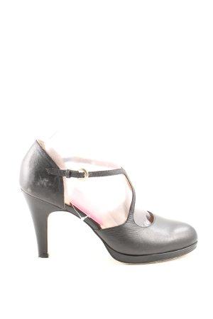 Mary Jane pumps zwart zakelijke stijl