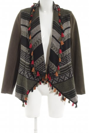 Robin Cardigan grafisches Muster Casual-Look