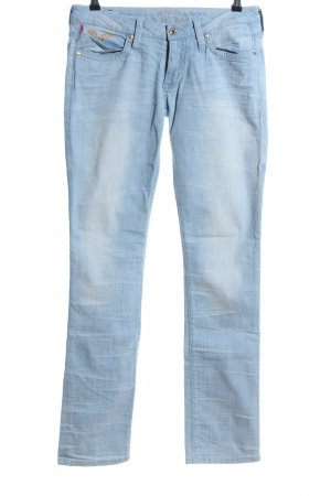 Robins Jeans Straight-Leg Jeans blau Casual-Look