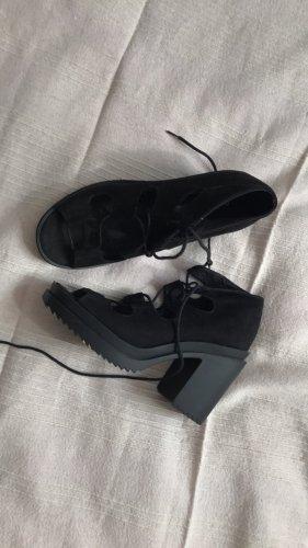 robuste heels schwarz