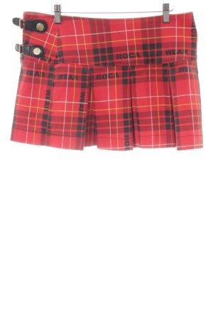 Rocawear Faltenrock Karomuster Casual-Look