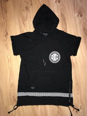 Rocawear Shirt met capuchon wit-zwart