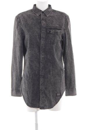 Rocawear Camicia denim nero stile casual
