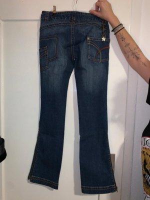 Rocawear Pantalón de campana azul