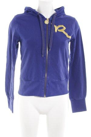 Rocawear Sweatjacke dunkelviolett sportlicher Stil