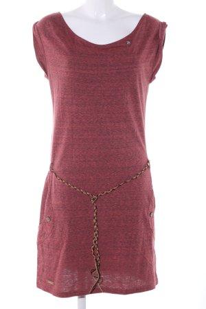 Rocawear Sweatkleid rot meliert Casual-Look