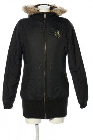 Rocawear Reversible Jacket black-gold-colored themed print casual look
