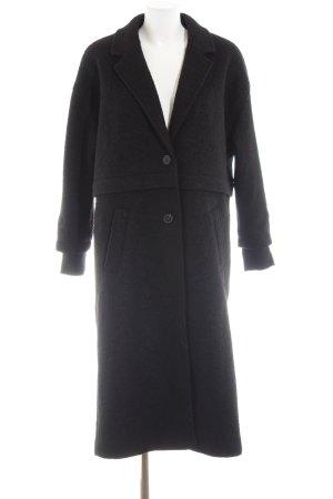 Rocawear Wollmantel schwarz Casual-Look