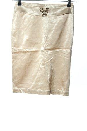 Rocco Barocco Pencil Skirt cream casual look