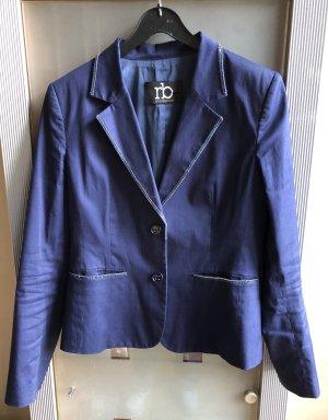 Rocco Barocco Short Blazer dark blue