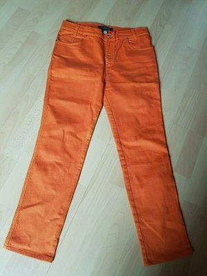 ROCCOBAROCCO edle Designer Jeans NEU orange Gr. 38 Stretch