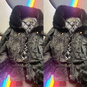 Rocco Barocco Denim Jacket black