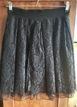 Choklate Lace Skirt black