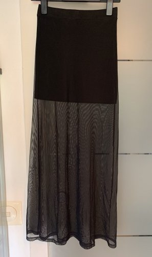 H&M Stretch Skirt black