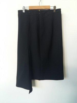 Gaetanonavarra Wraparound Skirt black viscose