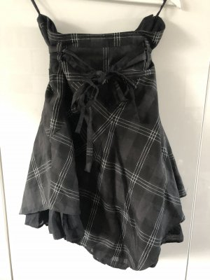 Tulle Skirt black-silver-colored