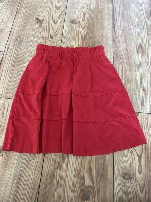 Noisy May Mini rok donkerrood-rood