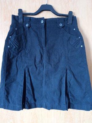 Cecil Plaid Skirt black mixture fibre