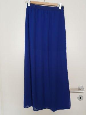 H&M Jupe en tulle bleu