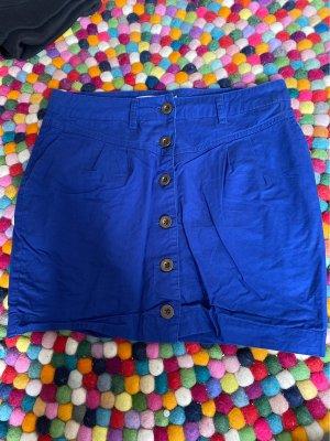 Even & Odd Mini rok blauw