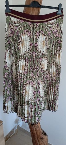 H&M Morris & Co Pleated Skirt multicolored