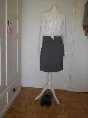1.2.3 Paris Pencil Skirt grey-slate-gray