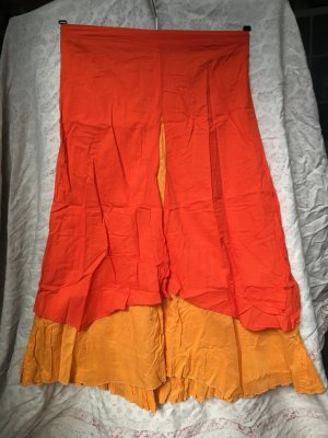 Rock 100% cotton orange-gelb