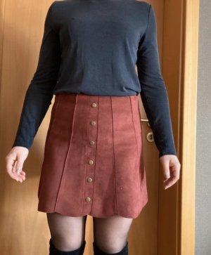 Amisu Flared Skirt carmine-russet