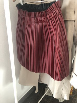 Circle Skirt dark red