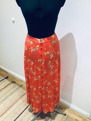 1.2.3 Paris Maxi Skirt dark orange-yellow