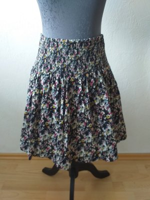 H&M Circle Skirt black-natural white