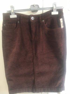 Montego Falda de tubo marrón