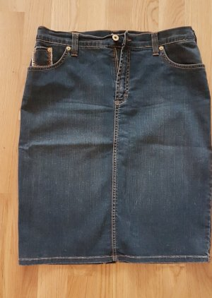 Dolce & Gabbana Gonna di jeans blu scuro-blu