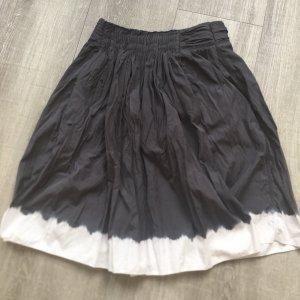 Prada Falda a cuadros gris oscuro