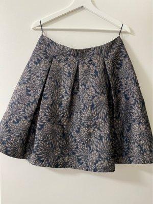 Esprit Flared Skirt dark blue-beige