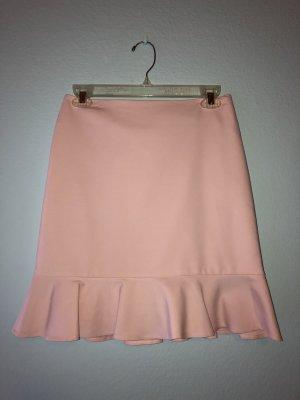 Asymmetry Skirt light pink-pink