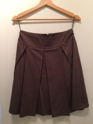 Vero Moda Plaid Skirt green grey-khaki