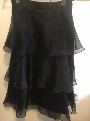 H&M Falda globo negro